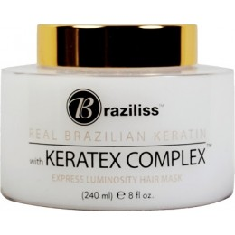 Express Luminosity Keratin Hair Mask 240mL