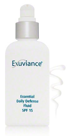 exuviance essential daily defense fluid spf 15