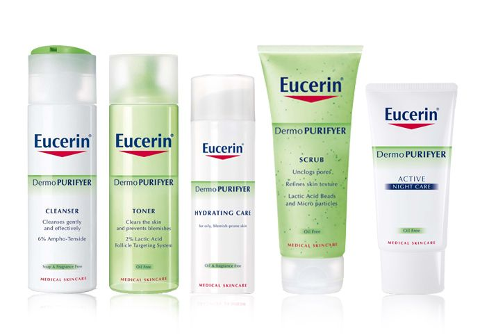 eucerin for oily skin