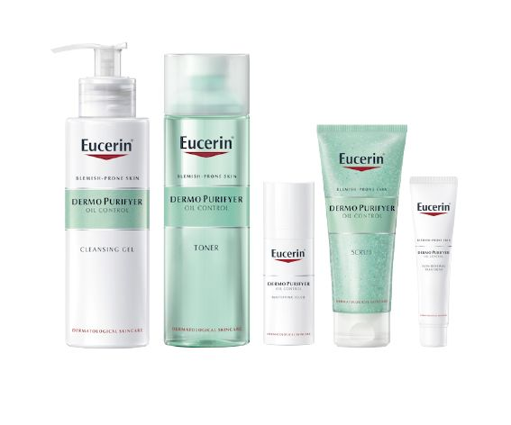 eucerin face lotion for acne
